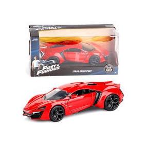 Auto 97377 Fast & Furious - Lykan Hypersport Rojo Metal Ab