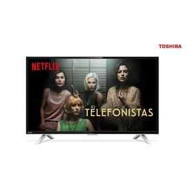 Smart Tv Led 32 Polegadas Semp Toshiba 32l2800 Hd W-fi 2 Usb