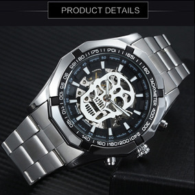 Relógio Caveira T-winner Grandmeister Skull Watch Waterproof