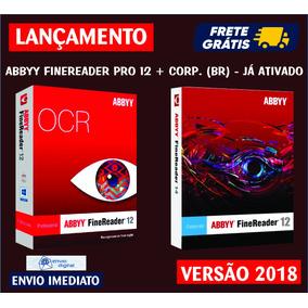 Abbyy Finereader 12 Pro + Corporate / Envio Digital Imediato