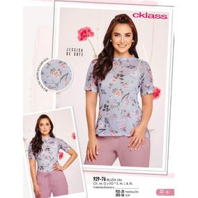 Blusa Lila Flores Cklass/ Mundo Outlet