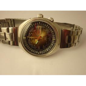 1ac2b9f452f Relogio Orient 3 Cabeca Antigo - Relógios no Mercado Livre Brasil