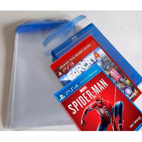 Envelope Plástico Transp Aba Adesiva 250 Dvd 250 Blu-ray