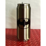 Termo Batman Doble Capa Acero Inoxidable Envio Gratis