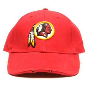 Nfl Washington Redskins Gorra Ajustable Con Dos Luces Led b2e208aced1