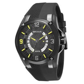 Relógio Seculus Masculino Analógico 28377gpsvpu1 Saldo