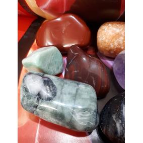 Lote 09 Cristais Gemas Naturais Pedras Polidas 660g Grandes