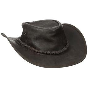 1113d291ad0b9 Sombrero De Sheriff Cuero Mareon en Mercado Libre México