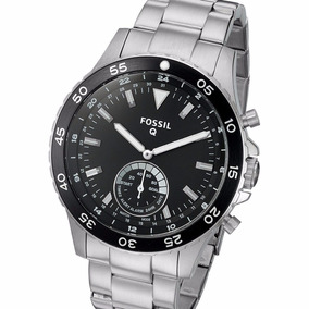 Reloj Fossil Q Crewmaster Smartwatch Híbrido Ftw1126 Plata