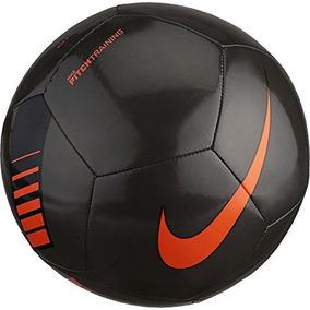 5166644a0878f Balón De Fútbol Nike Pitch Training Metálico Negro  naranja