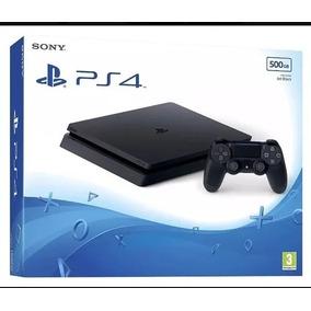 Playstation Ps4 Sony 500 Gb Novo Lacrado Acompanha Um Jogo