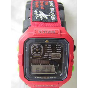 cd536dea8cd Rarissimo Relogio Citizen Windsurf D060 Pulso - Relógios no Mercado ...