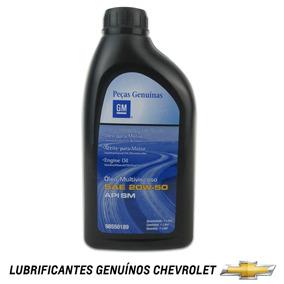 Óleo De Motor 20w50 Api Sm Genuíno Original Gm 98550189