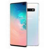 Samsung S10 Plus Blanco 128gb + 128gb Sd Card Libre Dual Sim