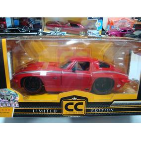 Miniatura Chevy Corvette Sting Ray 1963 1/24 Jada #e11