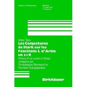 0 Stark L Conjectures Fonctions Sur Dartin En Les S De Kcl315uTFJ
