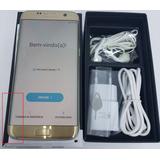 Samsung Galaxy S7 Edge 32gb Dourado Com Trinco No Lcd Iusado