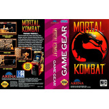 Juego Sega Game Gear Mortal Kombat Original