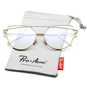 01da5930ac Pro Acme New Fashion Premium Cat Eye Lentes Transparentes Ma