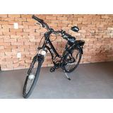 Vendo Bicicleta Elétrica Com Bateria De Lítio