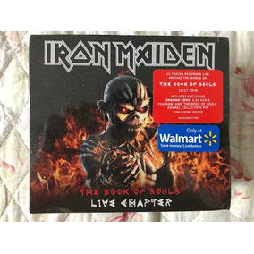 Iron Maiden - Box Live Chapter Ed.limitada Walmart- Lacrado