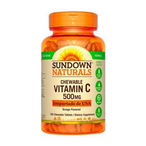 Vitamina C Sundown Naturals 500mg X 100 Tabletas