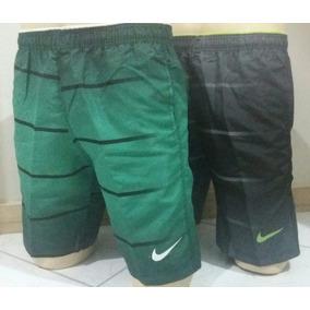 Kit 20 Peças Bermudas Shorts Tactel Com Ziper No Bolso