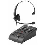 Telefone Headset Hsb-50 Com Base Discadora Intelbras Hsb50