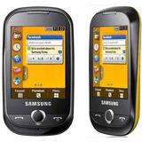 Celular Samsung Corby S3650 Preto/amarelo [vitrine]