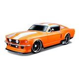 Maisto R / C 1:24 Scale 1967 Ford Mustang Gt Vehículo De Con