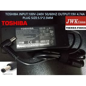 Cargador Laptop Toshiba Original 19v 4.74a Plug5.5*2.5mm Jwk