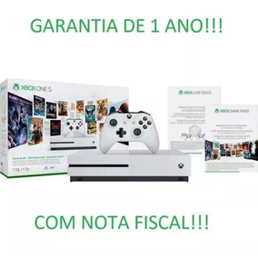 Xbox One S 1 Tb 4k Uhd +3 Meses Game Pass +3 Meses Live Gold