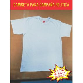 Camiseta Campaña Politica