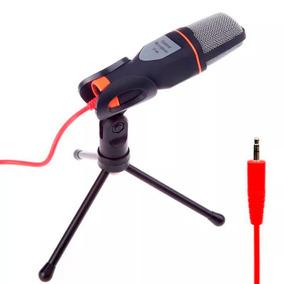 Microfone Mesa Alta Sensibilidade Flexível Skype Gamer T44