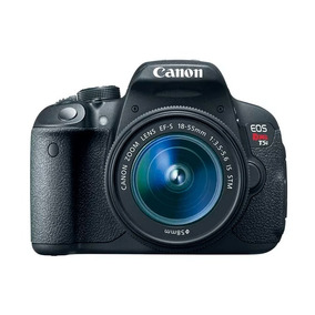 Kit Youtuber Câmera Digital Canon Dslr Eos Rebel T5i 18-55mm