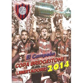Álbum San Lorenzo Campeón Da Libertadores 2014 Digitalizado