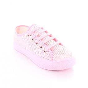 Tenis Para Mujer Dunlop E50ss-048888 Color Rosa