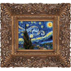 1e1a7ddb09de36 Estado De México · Overstockart Starry Night Framed Oil Painting By Vincent  Van