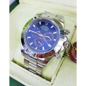 Reloj Rolex Daytona Acero Esfera Azul Rey Automatico