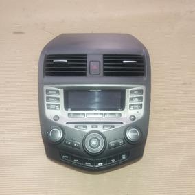 Painel Central Radio Comandos Ar-condicionado Accord 2007