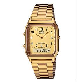 200b6ac1f49 Relogio Casio Aq 230 Dourado - Joias e Relógios no Mercado Livre Brasil