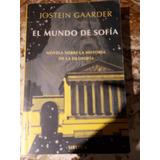 El Mundo De Sofia .ed Siruela Jostein Gaarder