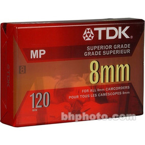 Cassette Tdk 8 Mm Para Cámara Filmadora