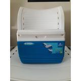 Caixa Térmica Verano 4,5 Litros Azul E Branco - Soprano