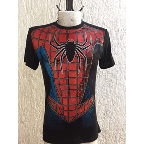 Playera Superhéroe Spiderman Talla M
