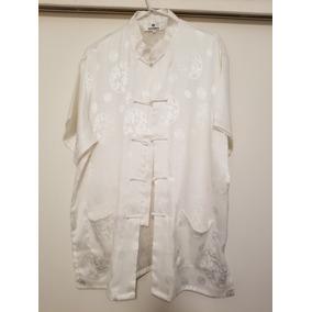 Camisas Estilo Chino Antrax - Ropa y Accesorios Blanco en Mercado ... 086a56b4f35
