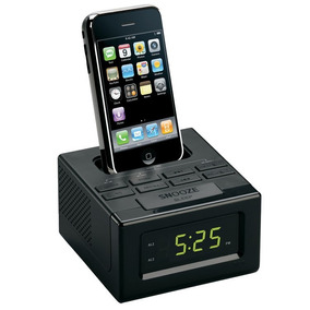 Radio/reloj Despertador, Fm, Docking Para Ipod/iphone