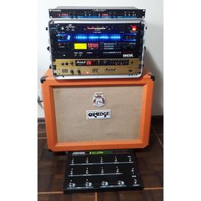 Rack Marshall G Force Orange Korg Voodoo Lab Furman