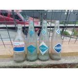 Lote D Antiguas Botellas Agua Mineral