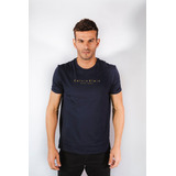 Camiseta Calvin Klein Flame C Logo Espaçado Azul Marinho 555855ec8f